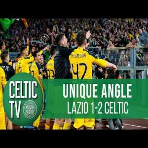 🎥 UNIQUE ANGLE: Lazio 1-2 Celtic | The goals & celebrations as we Bhoys stun Lazio!