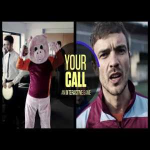Your Call   An interactive football journey from B/R football.