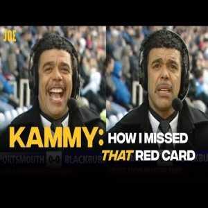 Chris Kamara explains how he managed missed Anthony Vanden Borre's red card on Soccer Saturday