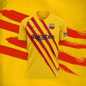 FC Barcelona unveil new kit