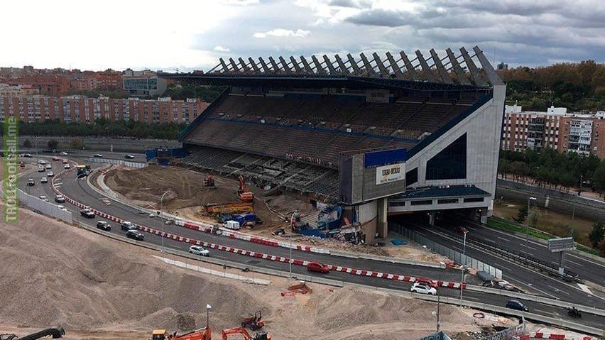 The Last Standing stand of Estádio Vicente Calderón