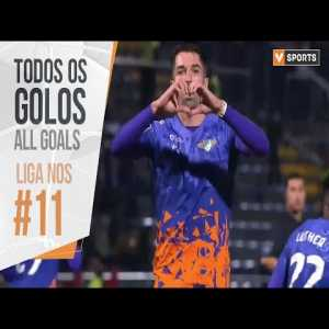 All goals - Portuguese league 2019/2020 - week 11