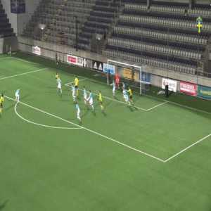 Sweden U19 [2]-2 Slovenia U19 - Jack Lahne (great goal) 58'