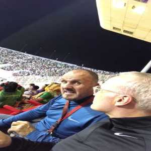 """""""Absolutely stunned. Look at this away support from Bangladesh in Oman. -"""" Joe Morrison"""