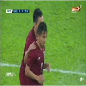 Malaysia 0-1 Thailand - Chanathip Songkrasin 7'