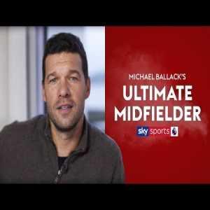 Michael Ballack's Ultimate Midfielder: Passing - Xavi, Creativity - Zidane, Leadership - Emerson, Engine - Essien, Goalscoring - Lampard, Tackling - Jeremies.
