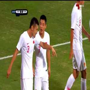 Syria 1–[1] China – Wu Lei 29' (AFC 2022 WC Qualifiers)