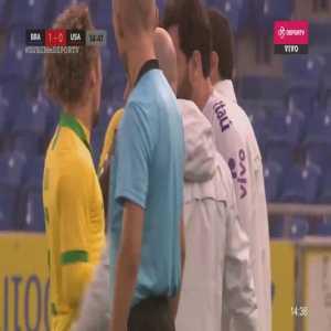 U23 : Brazil 1-0 USA Matheus Cunha