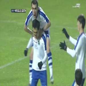 Uzbekistan [2] - 1 KSA — Otabek Shukurov 56' (PK) — (World Cup Qualification - AFC)