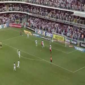 Santos 1-[1] São Paulo : Daniel Alves 55'