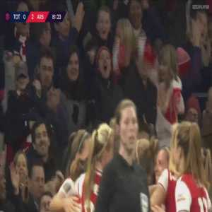Tottenham Hotspur W 0-2 Arsenal W - Vivianne Miedema 82'