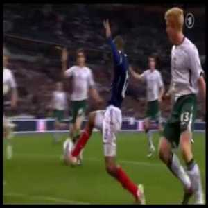 On this day 10 years ago in a World Cup playoff match between France and Republic of Ireland, Thierry Henry handled the ball inside the box to help his team score and end Ireland's chances of qualifying for the 2010 Fifa World Cup.
