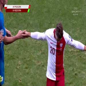 Farewell of Łukasz Piszczek in his last game in Polish NT