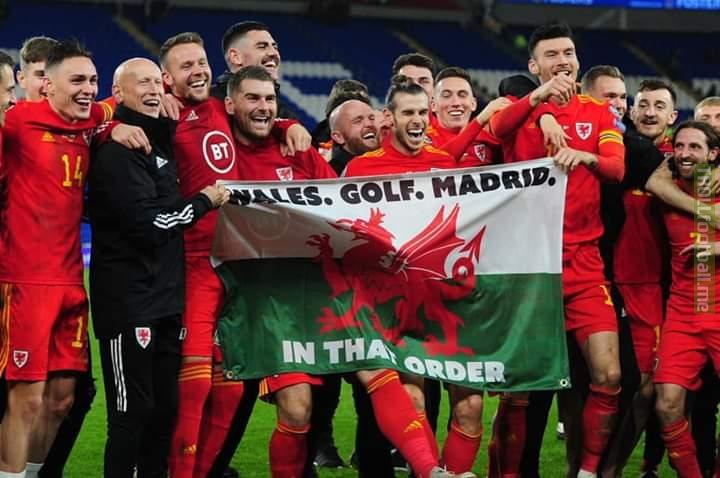 Wales, Golf, Madrid - In that order. Gareth Bale trolls Real.