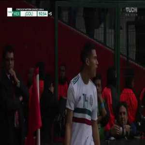 Mexico [2]-1 Bermuda : Uriel Antuna 90'+3'