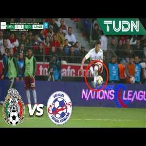Skilled Control Of Uriel Antuna(LA Galaxy) | México 2 - 1 Bermudas | CONCACAF Nations League - J6 |