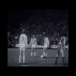 Günter Netzer 1973 volley free kick
