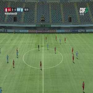 """Moment of Silence During First Match of Primera Division since Crisis in Chile (""""They Are Killing Us!"""" Shouts someone)"""