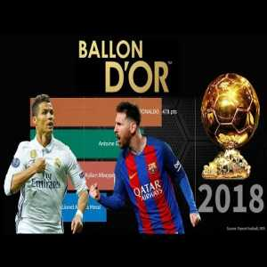 Top 5 Ballon d'Or Ranking and Winners (1956-2018)