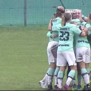 [Serie A Women] Great goal by Gloria Marinelli for Inter Milan