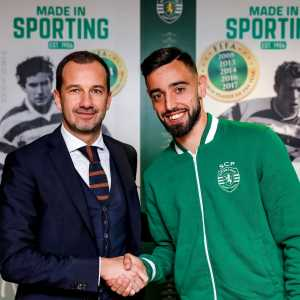 Bruno Fernandes has extended his contract with Sporting Lisbon until 2023.