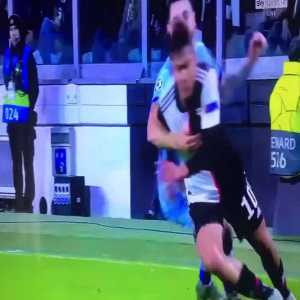Dybala nutmeg against Hermoso