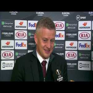 """""""It's a steep learning curve at this level"""" Ole Gunnar Solskjær reacts to Man Utd's defeat against Astana"""