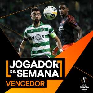 Bruno Fernandes wins EL's Player of the Week award