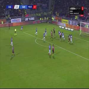 Cagliari [4]-3 Sampdoria - Cerri 96'