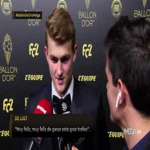 De Ligt: Sergio Ramos is my biggest idol