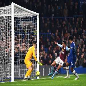 "OptaJoe: ""Trézéguet's goal, assisted by Ahmed El Mohamady for Aston Villa vs Chelsea is the first-ever Premier League goal to be both scored and assisted by Egyptian players. Pharaohs."""