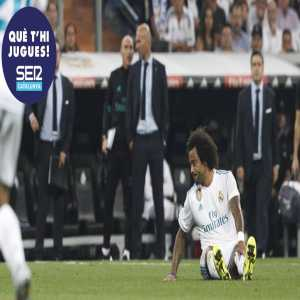 [Cadena SER] Marcelo has suffered an injury that will prevent him from playing El Clasico