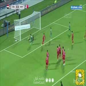 Iraq 1-0 Bahrain - Mohanad Ali 6'