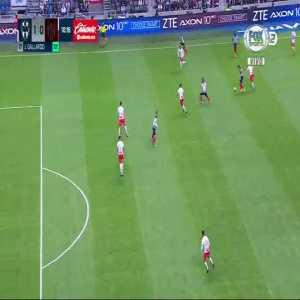 Monterrey [1]-0 Necaxa - Jesús Gallardo 9'