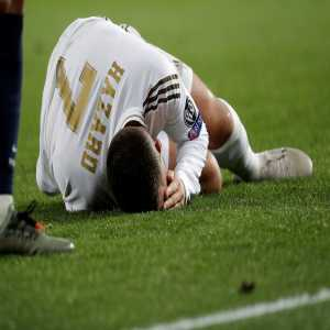 OFFICIAL: Hazard injury update, will miss El Clásico against Barcelona