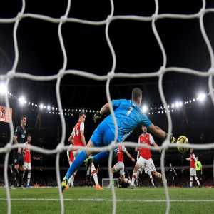 Arsenal have faced 52 shots on target in eight home league games this season - more than they did at Highbury in the entirety of their last title winning campaign of 2003-04