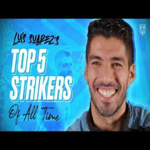 "Luis Suarez Picks His Top 5 Strikers of All Time: ""#4 Ronaldo, the fat one, the first Ronaldo, the Brazilian Ronaldo"""