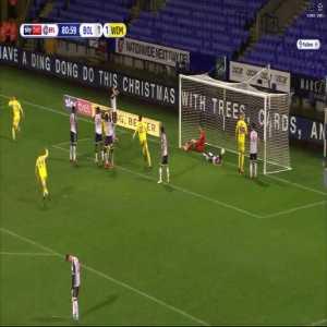 Bolton Wanderers 1-[2] AFC Wimbledon - 81' Marcus Forss Brace
