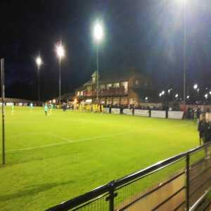Darlington Vs Chester had the second delayed due to floodlight failure. But at 2-0 up we were in good spirits