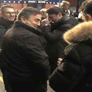 """@liamgEFC: """"Kovac at the match [Everton vs Chelsea] 😬"""""""