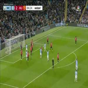 Manchester City [1]-2 Manchester United - Otamendi 85'
