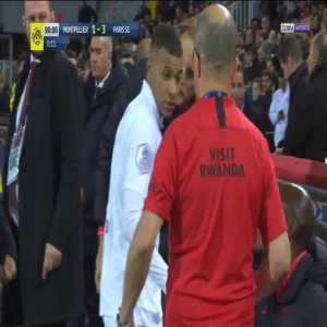 Not a good look from Kylian Mbappé this afternoon as he appeared to ignore Thomas Tuchel when being substituted off.