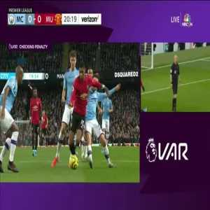 VAR review confirms penalty vs Manchester United
