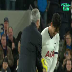 Video of José Mourinho giving the match ball to Troy Parrott after the Tottenham Youngster made his Premier League Debut
