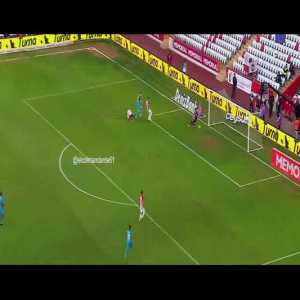 Antalyaspor 0-[1] Trabzonspor - Goal by Sørloth, assist by Sturridge