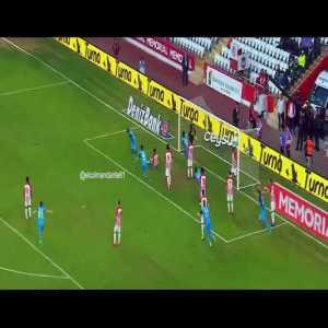 Antalyaspor 1-[2] Trabzonspor - Goal Nwakaeme, assist Sturridge.