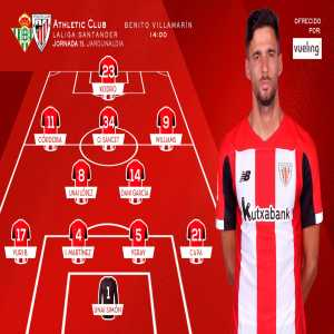 Kenan Kodro gets his first start for Athletic Club, 11 months After Being Signed