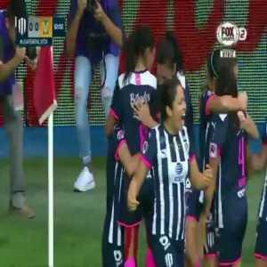 Monterrey [1] - 0 Tigres ([2]-1 on agg.) - Diana Evangelista 31'   Femenil