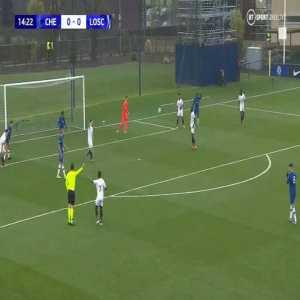 Chelsea U19 1-0 Lille U19 - Dion Rankine 15' (Bizarre Goal)