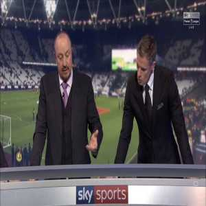 MNF: Carragher reckons ManUtd looked like the United of old, and Rafa Benitez pinpointed the defensive weaknesses for ManCity